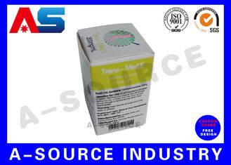 Paper Carton Packaging Custom Size Boxes For Chemical Oil Solution Trenbolone Acetat Testosterone Enanthate